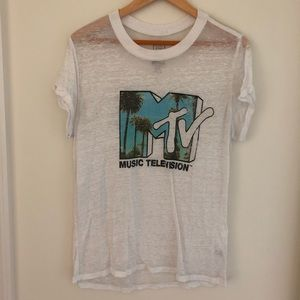 MTV White t-shirt